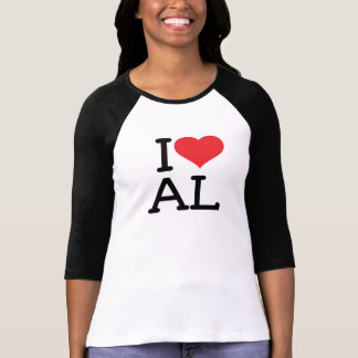 I Love AL - Ladies 3/4 T-shirt