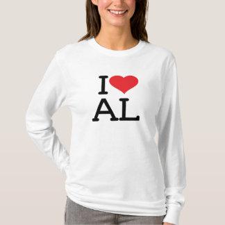 I Love AL - Ladies Long Sleeve T-Shirt