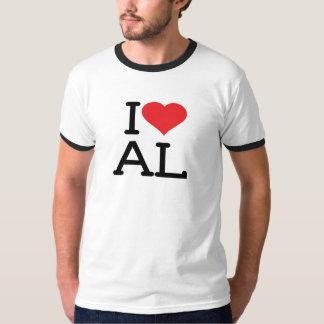 I Love AL - Mens Ringer T-Shirt