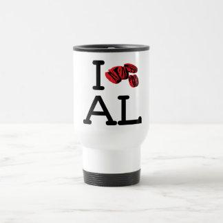 I Love AL - Pecans - Travel Mug