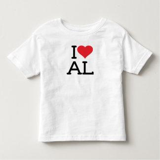 I Love AL - Toddler Toddler T-shirt