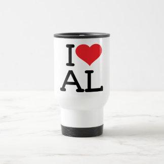 I Love AL - Travel Mug