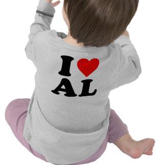 I LOVE AL T SHIRT