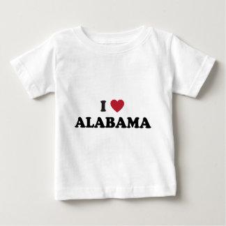 I Love Alabama Baby T-Shirt
