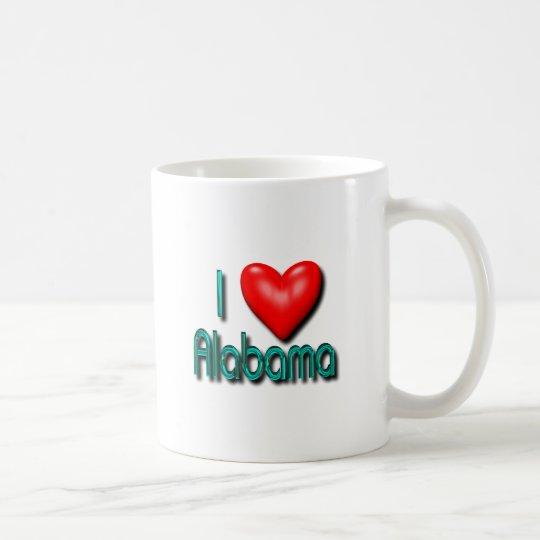 I Love Alabama Coffee Mug