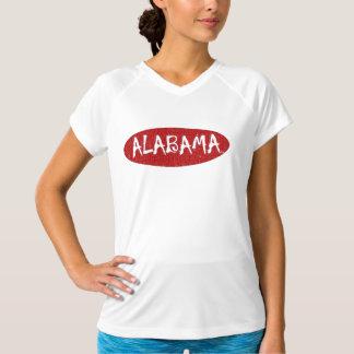 I Love Alabama Ladies Performance Micro-fiber Tee