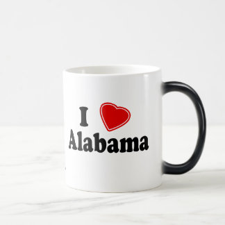 I Love Alabama Magic Mug
