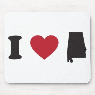 I love Alabama Mouse Pad