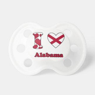 I love Alabama Pacifier