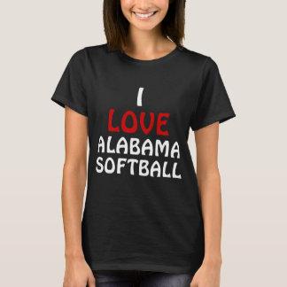 I love Alabama Softball T-Shirt