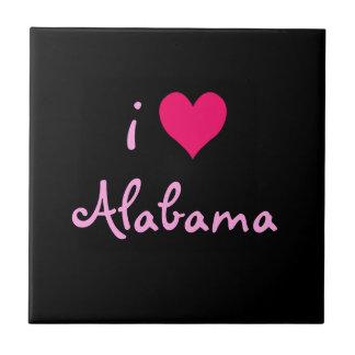 I Love Alabama Tile