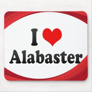 I Love Alabaster, United States Mouse Pad