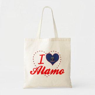 I Love Alamo, North Dakota Bags