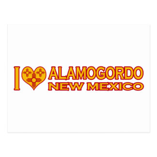 I Love Alamogordo, NM Postcard