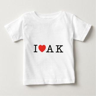 I LOVE ALASKA BABY T-Shirt