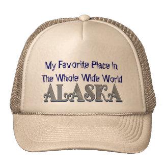I Love Alaska Baseball Cap Trucker Hat
