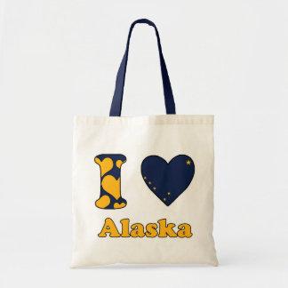 I love Alaska Budget Tote Bag