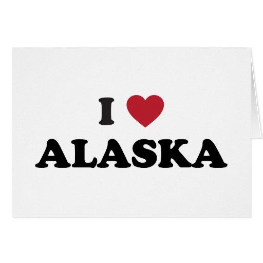 I Love Alaska Card