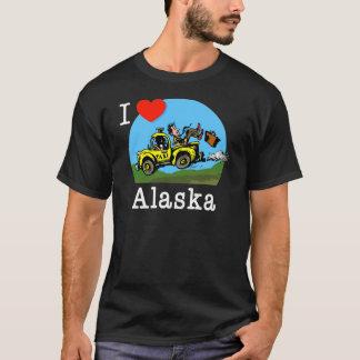 I Love Alaska Country Taxi T-Shirt
