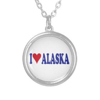I Love Alaska Custom Necklace