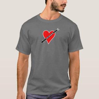 I Love Alaska Heart T-Shirt