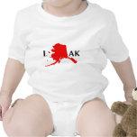 I Love Alaska - I Love AK State Creeper