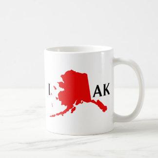 I Love Alaska - I Love AK State Coffee Mug