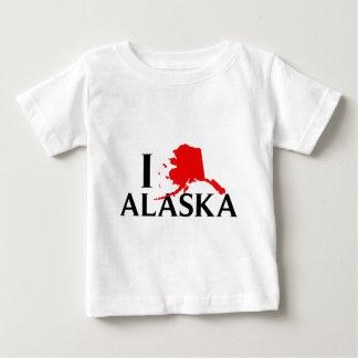 I Love Alaska - I Love AK State Tee Shirt