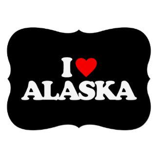 I LOVE ALASKA CUSTOM INVITE