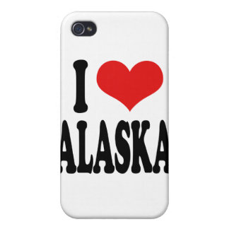 I Love Alaska iPhone 4/4S Covers