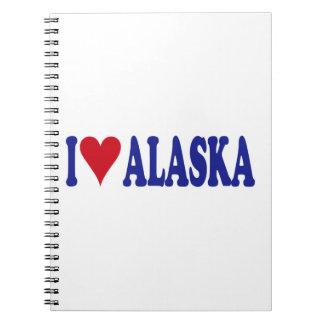I Love Alaska Notebook