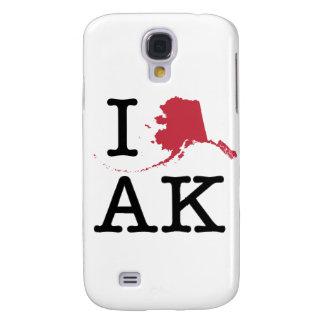 I Love Alaska Samsung Galaxy S4 Cover