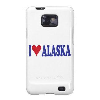 I Love Alaska Samsung Galaxy SII Covers
