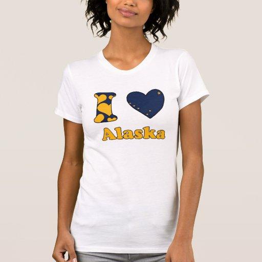 I love Alaska T-shirts