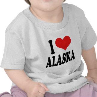 I Love Alaska Tees