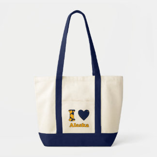I love Alaska Tote Bag