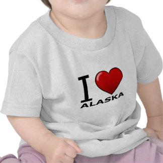 I LOVE ALASKA T-SHIRT