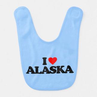 I LOVE ALASKA BIB
