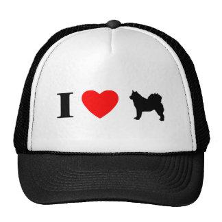 I Love Alaskan Malamutes Hat