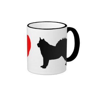 I Love Alaskan Malamutes Mug