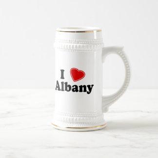 I Love Albany Coffee Mugs