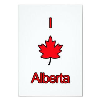 I Love Alberta Card