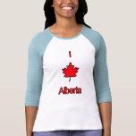 I Love Alberta Tee Shirts
