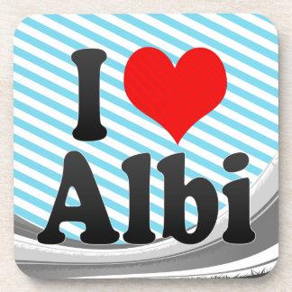 I Love Albi, France Coaster