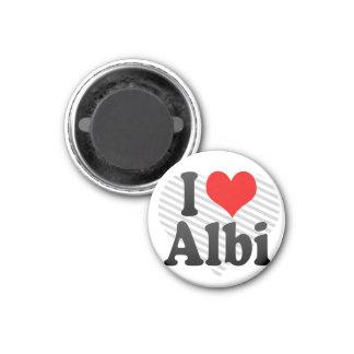 I Love Albi, France Refrigerator Magnet