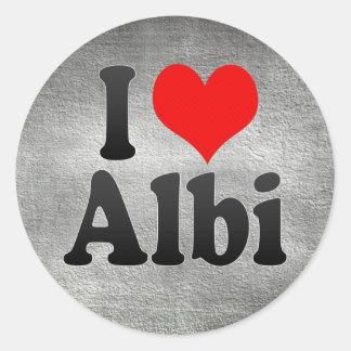 I Love Albi, France Sticker