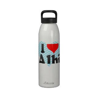 I Love Albi, France Drinking Bottle