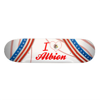 I Love Albion, Illinois Skate Decks