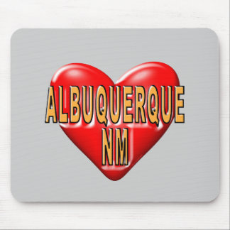 I love Albuquerque Mouse Pad