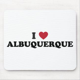 I Love Albuquerque New Mexico Mouse Pad